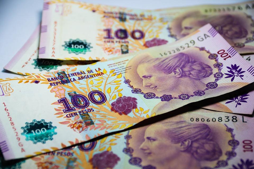 argentinské peníze