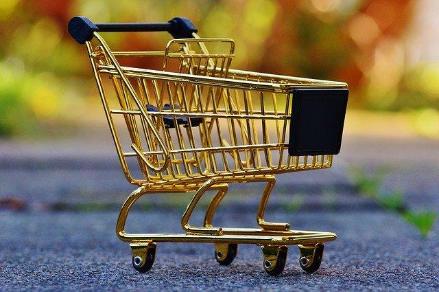 nákupní košík – je vždy nutný