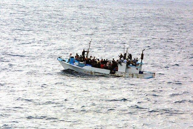 Uprchlíci na člunu